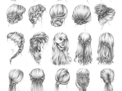 hairstyles for recitial