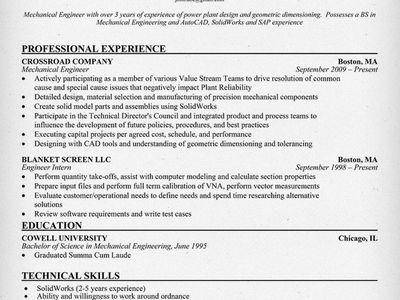 Ahmad Hardijanto (abduljalalfaisa) on Pinterest - mechanical engineering resume template