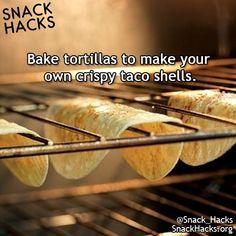 DIY FOOD HACKS