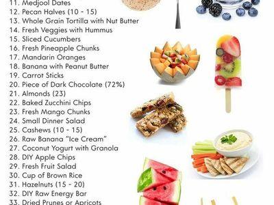Healthy snacks 2