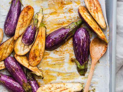 Alles mit Auberginen / All about eggplants
