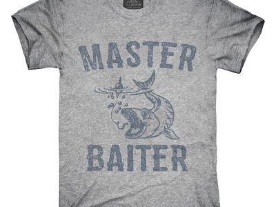 The Benchmark Master Baiter Hoodie Funny Fishing Hoodies