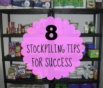 Couponing/Stockpiling
