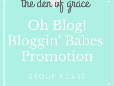 Oh Blog! Bloggin' Babes Promotion