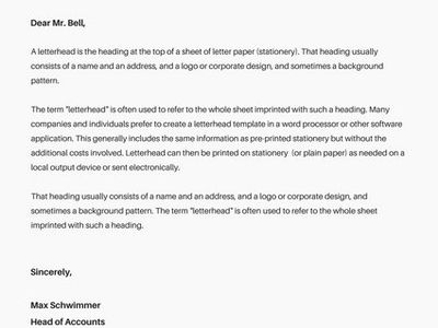 Waqas Siddiqui (jus60seconds) on Pinterest - letterhead example