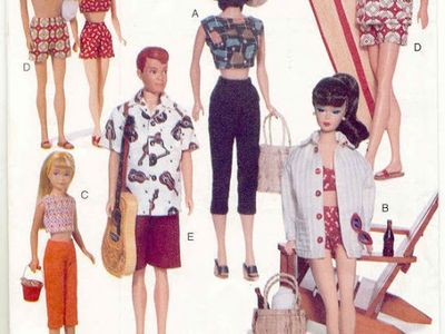 Barbie Clothes Sewing Ideas