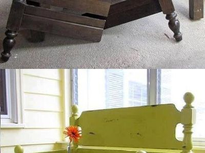 Benches from furniture
