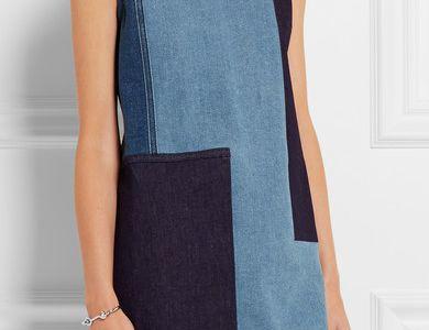 Closet Blu robe two Button dress d715 Black
