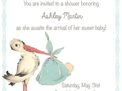Kristie and Brant's baby shower