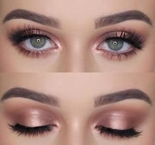 Put your makeup on