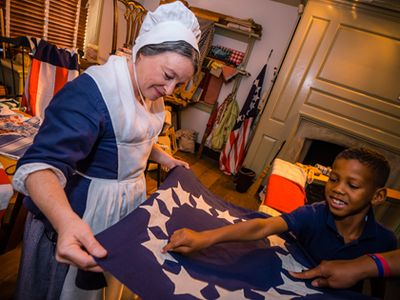 AMERICAN HERITAGE® Chocolate Blogger Trip to The Betsy Ross House