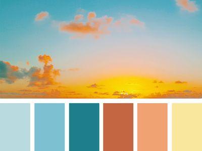 { heavenly hues }