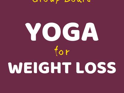 YOGA for WEIGHTLOSS Group Board