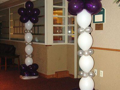 8th grade graduation ideas on pinterest balloon columns for 8th grade graduation decoration ideas