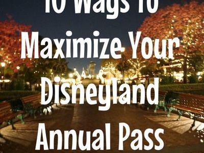 Disney Annual Passholder Tips