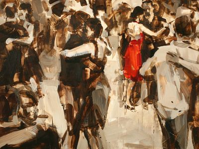 Paintings about Dance and Dancing