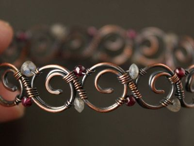 Wire Jewelry/Jewelry to make