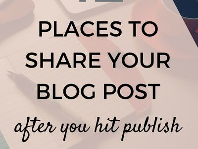 A Bloggers Group Board