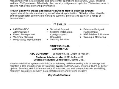 Windows Sys Administration Sample Resume Endearing Gopi Nath Gopislm11 On Pinterest