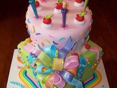 Lalaloopsy Castle Cake