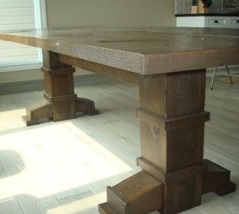 Reclaimed Wood Table On Pinterest Reclaimed Wood Tables