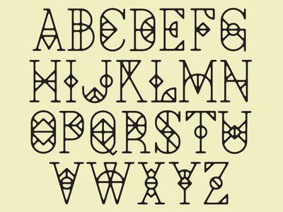 typographie & lettrage