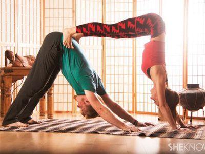 Acro Yoga looks so cool!