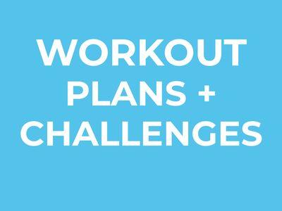 Workout Calendars + Workout Plans