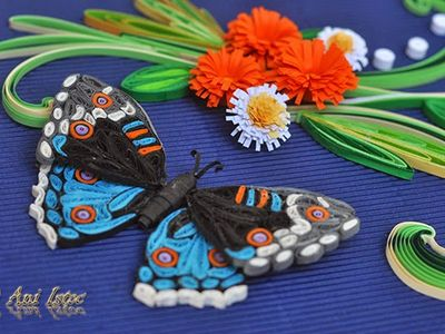 Quilling: Butterflies & Insects