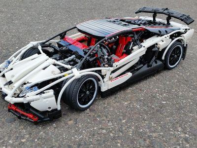 Baja Off-Road rally SUV Blue Technic Custom MOC 3662 Blocks Lego Compatibile