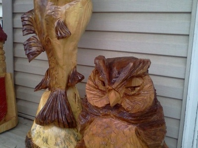 Chainsaw Carving Ideas On Pinterest Chainsaw Carvings