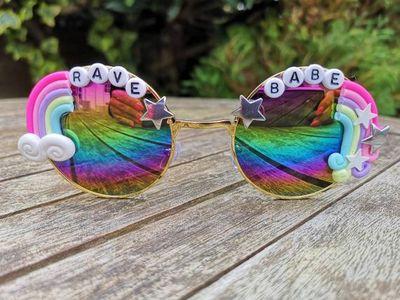 Rainbow Heart LICKALOTTAPUS Dinosaur Lesbian Baby Girls Long Sleeve Romper Jumpsuit