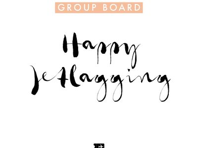 ✿ Happy Jetlagging! ✿ Travel the World ✿