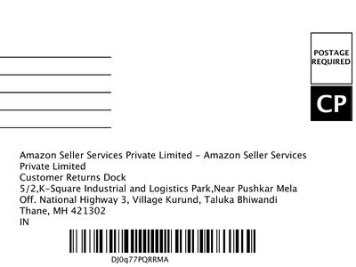 35 Amazon Return Label Postage Required Cp - Labels For Your Ideas