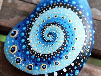 Mandalas and Rock Painting