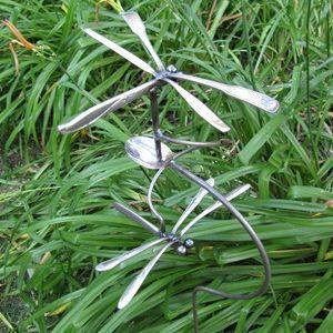 Silverware Repurposed Garden Art On Pinterest Spoons