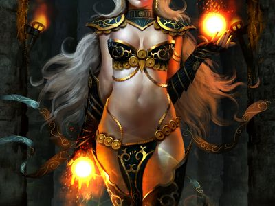 Sorceress's & Other Magical things