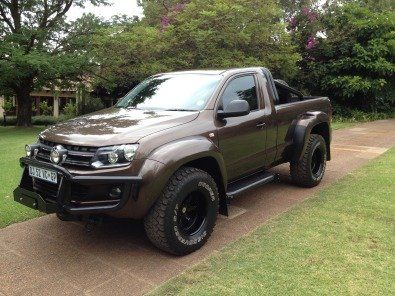 amarok single cab arctic truck nudge bar roll bar 18 inch wheels