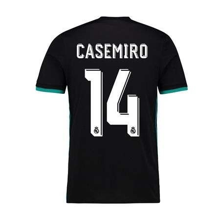 promo code c4be8 fae9a 2017/2018 Casemiro Jersey Number 14 Away Youth Real Madrid ...
