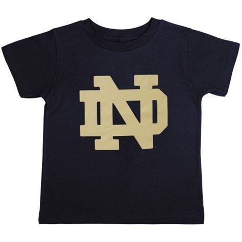 Notre Dame Fighting Irish Toddler Navy Blue Primary Logo T-Shirt