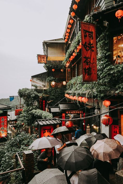If you are thinking about visiting the historic town of Jiufen in Taiwan, then read this guide for real advice and recommendations you won't find elsewhere. Taiwan Travel, Bangkok Travel, China Travel, Travel Around The World, Around The Worlds, Aesthetic Japan, Travel Goals, Natural Wonders, Nice View