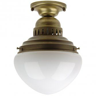 Leone I Klassische Jugendstil Deckenleuchte Von Berliner Messing Lampen In 2020 Lampen Messing Und Berliner Messinglampen