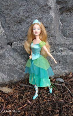 Delia De Barbie En Las 12 Princesas Bailarinas Bailarinas Princesas Barbie