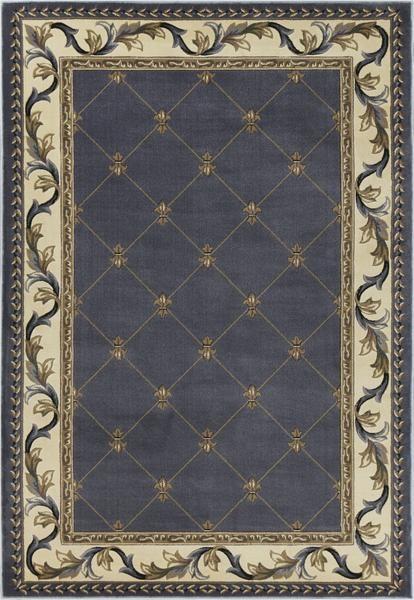 Kas Corinthian 5320 Blue Fleur De Lis Area Rug Blue Area Rugs Area Rugs Solid Area Rugs Fleur de lis area rug