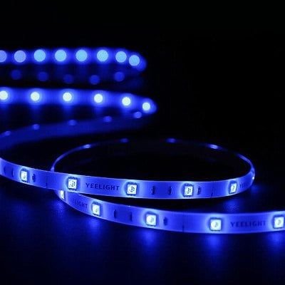 Yeelight Yldd04yl Wireless Wifi 2m Led Smart Strip Light 220v White Us Plug Gearbest Strip Lighting Lights Band Led Strip Lighting