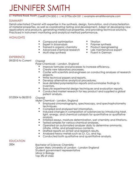 Cv Template Science Cvtemplate Science Template Cv Template Resume Templates Job Resume Examples