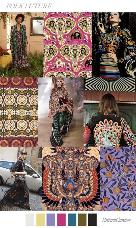 Texture, prints over prints  another macro trend for 2019/2020. It also plays a role in the individuality theme