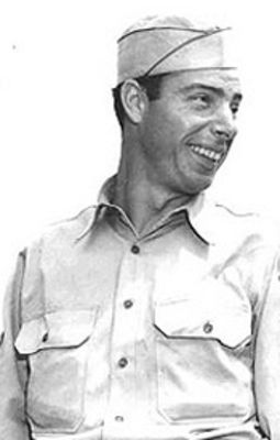 Joe DiMaggio served in the Air Force during World War II from 1943-45. He played for the Yankees the seven seasons before and the six seasons after his service time.