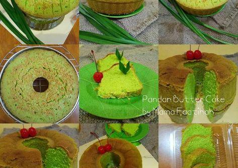 Resep Pandan Butter Cake So Moist Delicious Oleh Virazsiregar Resep Kue Mentega Resep Kue Kue