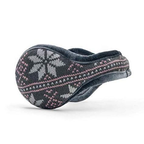 180s Women's Knit Behind-the-Head Fashion Ear Warmer | Premium Winter Earmuffs for Ladies | Jodyshop